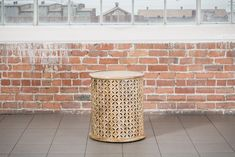 Rental piece: The Tavera. Moroccan Side Table. A beautifully detailed Moroccan side table made from Mango wood. Pair up with the matching Thirn coffee table.  The Tavera is also available as part of The Whistow lounge package.