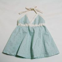 Heart pattern free download (baby clothes halter one piece) - Handmade (Handicraft & Gourmet new mother)