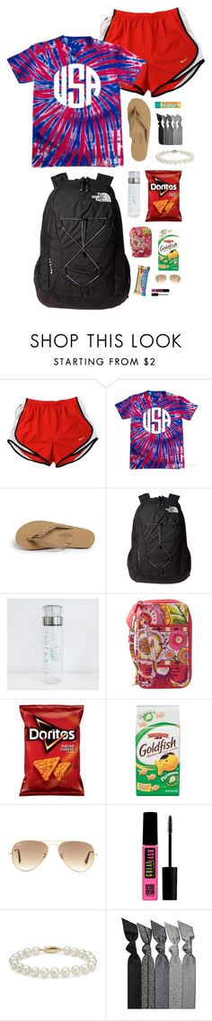 """""""There's a contest entry here!read d!"""" by lexii-campbelll ❤ liked on Polyvore featuring NIKE, Rainbow, The North Face, Vera Bradley, Ray-Ban, Maybelline, Blue Nile, Emi-Jay, women's clothing and women"""
