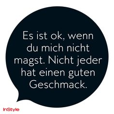+++ InStyle - Spruch des Tages +++