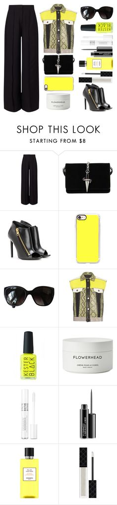 """""""Proenza Vest"""" by juliehalloran ❤ liked on Polyvore featuring Miss Selfridge, Cesare Paciotti, Tom Ford, Casetify, Chanel, Proenza Schouler, Kester Black, Byredo, Christian Dior and MAC Cosmetics"""