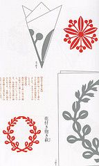 Kirigami (This and That From Japan) Tags: japan paper japanese cut interior decoration craft hobby howto kirigami instructions folding zakka