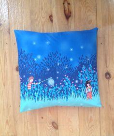 Sarah Jane Wee Wander Cushion by ThriftBoxUK on Etsy