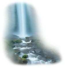 waterfall ❤ liked on Polyvore featuring water, backgrounds, tubes, waterfalls, art, effects, fillers and scenery
