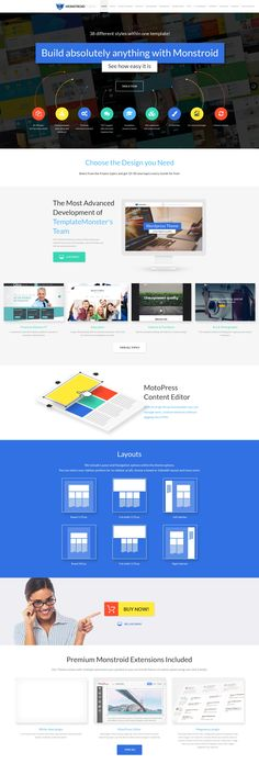 Monstroid Landing Page, part 1: http://www.templatemonster.com/wordpress-themes/monstroid/?utm_source=pinterest&utm_medium=timeline&utm_campaign=submonstr