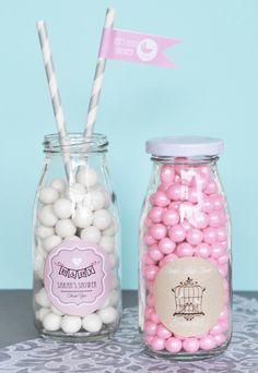 Super cute DIY favor ideas for showers, wedding or birthday!