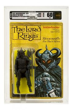 The Lord of the Ring action figures from 1978 - Ringwraight the Black Rider