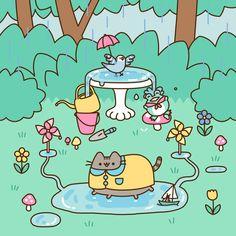 Comics Archives - Page 6 of 34 - Pusheen Pusheen Gif, Pusheen Love, Pusheen Unicorn, Pusheen Stormy, Cute Kawaii Drawings, Kawaii Cat, Kawaii Wallpaper, Cool Cats, Cute Wallpapers