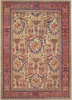 Persian Ziegler Sultanabad rug, 10ft 2in x 13ft 6in, Circa 1875