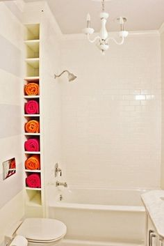 Bathroom Wall Organizer - behind tub - love