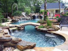 pool im garten Suitable pool deck renovation ideas only on this page Luxury Swimming Pools, Natural Swimming Pools, Luxury Pools, Swimming Pools Backyard, Dream Pools, Swimming Pool Designs, Pool Decks, Backyard Landscaping, Lap Swimming