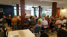 The N332 Road Safety Project Roadshow made another stop in Torrevieja recently, giving a presentation to the popular TRACS social and networking group
