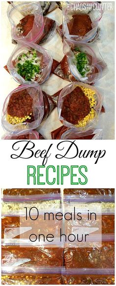 Beef Dump Recipes. A