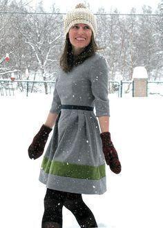 """patron gratuit : la robe """"garden party"""""""