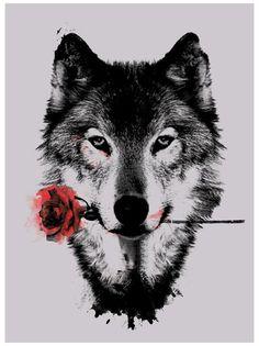 Wolf Face Tattoo, Wolf Tattoo Sleeve, Wolf Tattoos, Animal Tattoos, Girl Tattoos, Sleeve Tattoos, Wolf Tattoo Design, Tattoo Designs, Trendy Tattoos