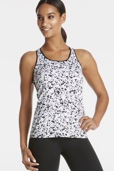Eiffel Tank in White Paint/Black Paint - Get great deals at Fabletics