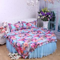 Find More Information about sweet home round bed four piece bedding set satin jacquard cotton velvet round bed skirt bedding kit duvet cover round bedding,High Quality skirt classic,China skirt ballet Suppliers, Cheap skirt belt from Queen King Bedding Set  on Aliexpress.com