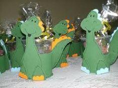 Resultado de imagen para lembrancas em EVA dos dinossauro