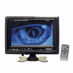 "Pyle PLHR76 7"" Widescreen LCD Mobile Video Monitor with Headrest Shroud http://www.giftgallore.com/product/6563_m/178_/Pyle-PLHR76-7-Widescreen-LCD-Mobile-Video-Monitor-with-Headrest-Shroud-528406563M.html"