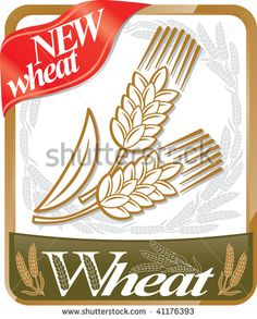 More new wheat. - stock vector
