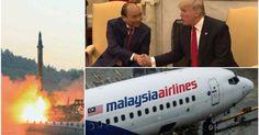 Thế giới đêm qua: Trump tiếp đón thủ tướng Phúc Triều Tiên dọa thử tên lửa xuyên lục địa Máy bay Malaysia giữa đường phải quay về