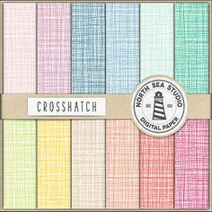 Crosshatch Digital Paper -  http://etsy.me/2aT8IO3 Crosshatch paper with colorful crosshatch pattern.