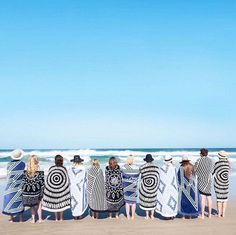 Beautiful Patterned Round Beach Towels