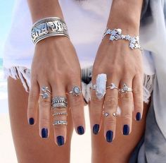 The most extensive of engagement traditions is the groom presenting his bride to be with a ring. Many often, the engagement ring is a diamond ring. However, diamonds are not the only gemstones used in engagement rings. Jewelry Trends, Boho Jewelry, Jewelry Box, Silver Jewelry, Jewelry Accessories, Fashion Accessories, Fashion Jewelry, Boho Rings, Jewellery