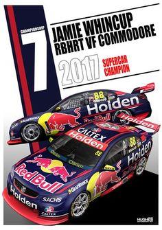7 photo by Velocemoto Australian V8 Supercars, Australian Cars, Holden Australia, Car Prints, Aussie Muscle Cars, Holden Commodore, Red Bull Racing, Custom Vans, Nascar Racing