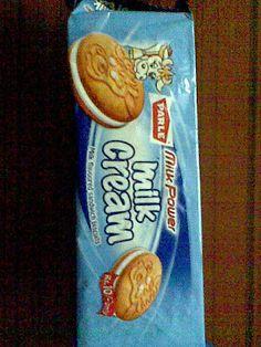 Parle Milk Cream Bakery Packaging, Milk, Cream, Creme Caramel