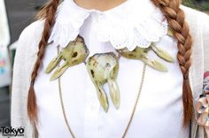 dollymacabre:    Necklace from AHCAHCUM.muchacha, from TokyoFashion.com  Have I mentioned that I need this desperately?