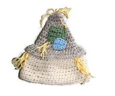 Newborn Baby Wool Scarecrow Hat | Wizard of Oz Inspired | Photo Prop | Halloween Costume | Baby Shower Gift