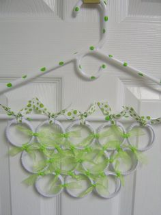 Scarf hanger I could totally make this