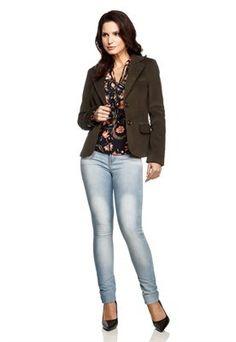 Calça Jeans Skinny Lavagem Estonada Cintura Intermediária
