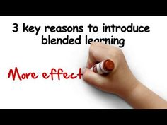What is blended learning? - YouTube