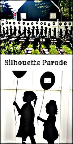 How to design and present your own silhouette parade for special events.