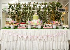 Project Nursery - Garden Birthday Party Dessert Table