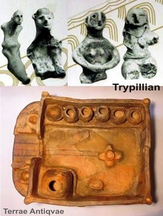 The clay model of Trypillian home. (altar-cross lies on the floor) Romania People, Prehistoric Period, Venus, Indigenous Tribes, History For Kids, Sumerian, Iron Age, Ancient Artifacts, Ancient History