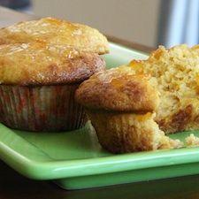 Brandied Orange Marmalade Muffins