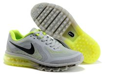 buy online 2472d 36fb0 522-226243 Nike Air Max 2014 Mesh Grey Black Green Nike Basketball Shoes,  Nike