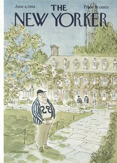 The New Yorker - Saturday, June 8, 1968 - Issue # 2260 - Vol. 44 - N° 16 - Cover by : James Stevenson
