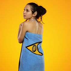 Star Trek Bath/Beach Towels - just the blue science department obviously