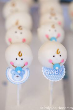 cake pop baby shower boys