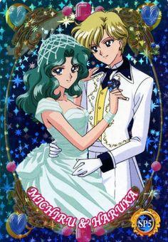 Toei Animation, Bishoujo Senshi Sailor Moon, Haruka Tenoh, Michiru Kaioh