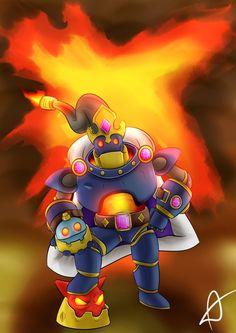 Paladins fanart; Bomb King