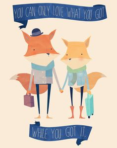 Love What You Got. Art Print by Scott Ulliman   Society6