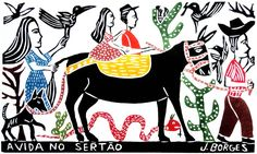 José Francisco Borges, mais conhecido como J. Borges, é xilogravurista e cordelista brasileiro que retrata a alegria e a dor do nordeste, de forma popular e com um tom de humor.