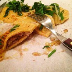 Mine matskriblerier: Ravioli fulle av sopp, nøtter og ost