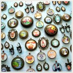 pendants by Crafty Grammy