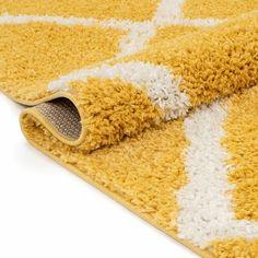 Well Woven Cabana Geometric Yellow/White Area Rug | Wayfair Yellow Rug, White Area Rug, Cabana, Area Rugs, Home Decor, White Carpet, Rugs, Decoration Home, White Rug
